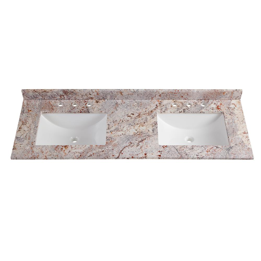 Home Decorators Collection 61 In W X 22 In D Stone