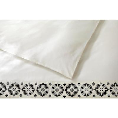 Reinhart 3-Piece Mason Embroidered Duvet Cover Set