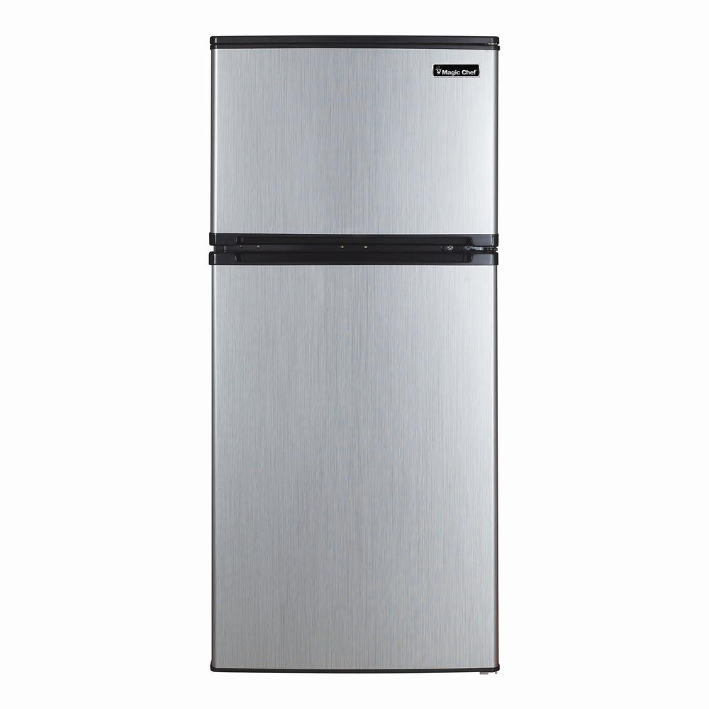Magic Chef 43 Cu Ft Mini Refrigerator In Stainless Steel