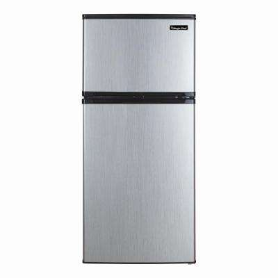 4.3 cu. ft. Mini Refrigerator in Stainless Steel