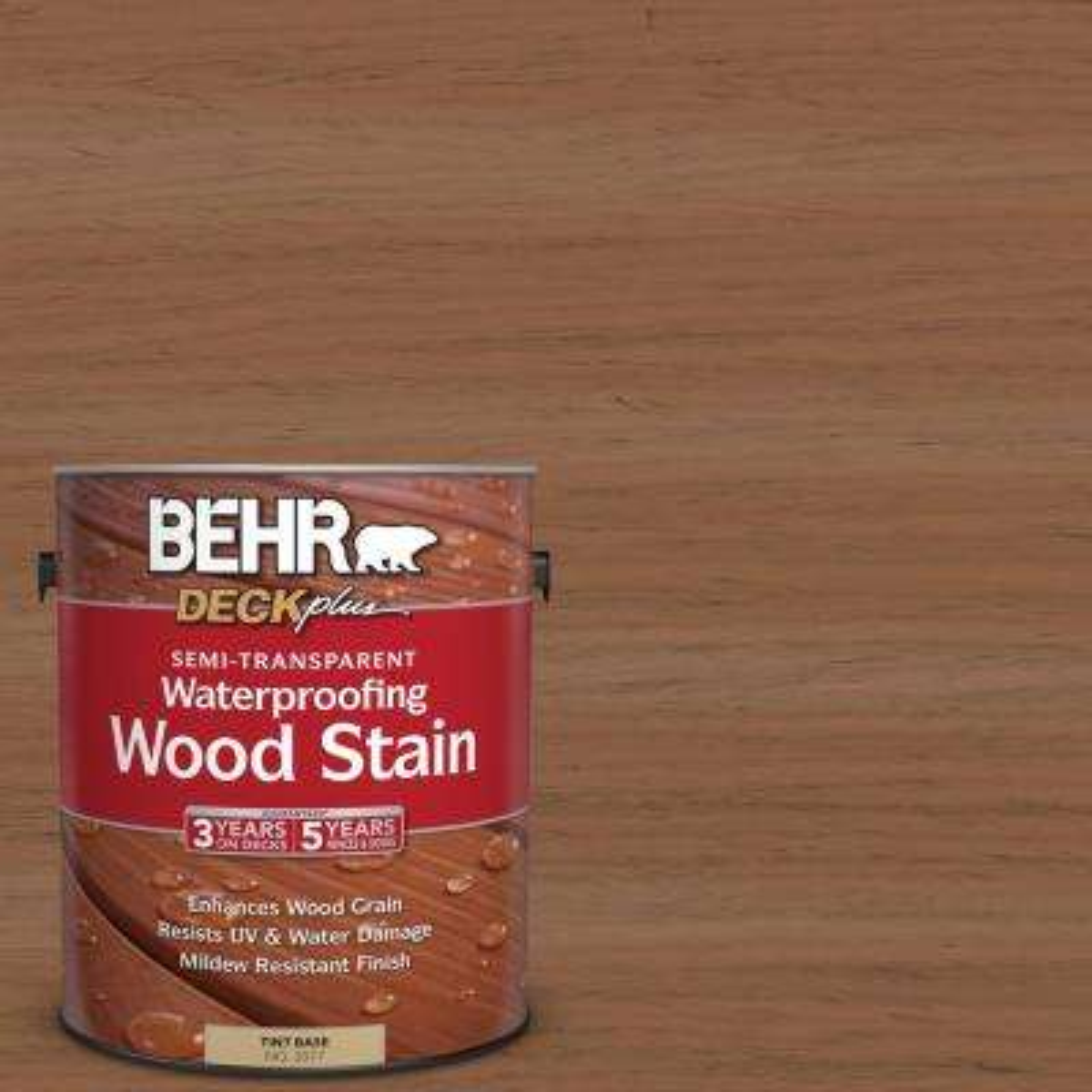 1 gal. #ST-152 Red Cedar Semi-Transparent Waterproofing Wood Stain