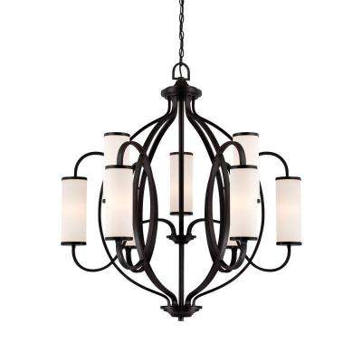 Bellemeade 9-Light Artisan Interior Incandescent Chandelier