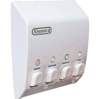Classic 4-Dispenser in White