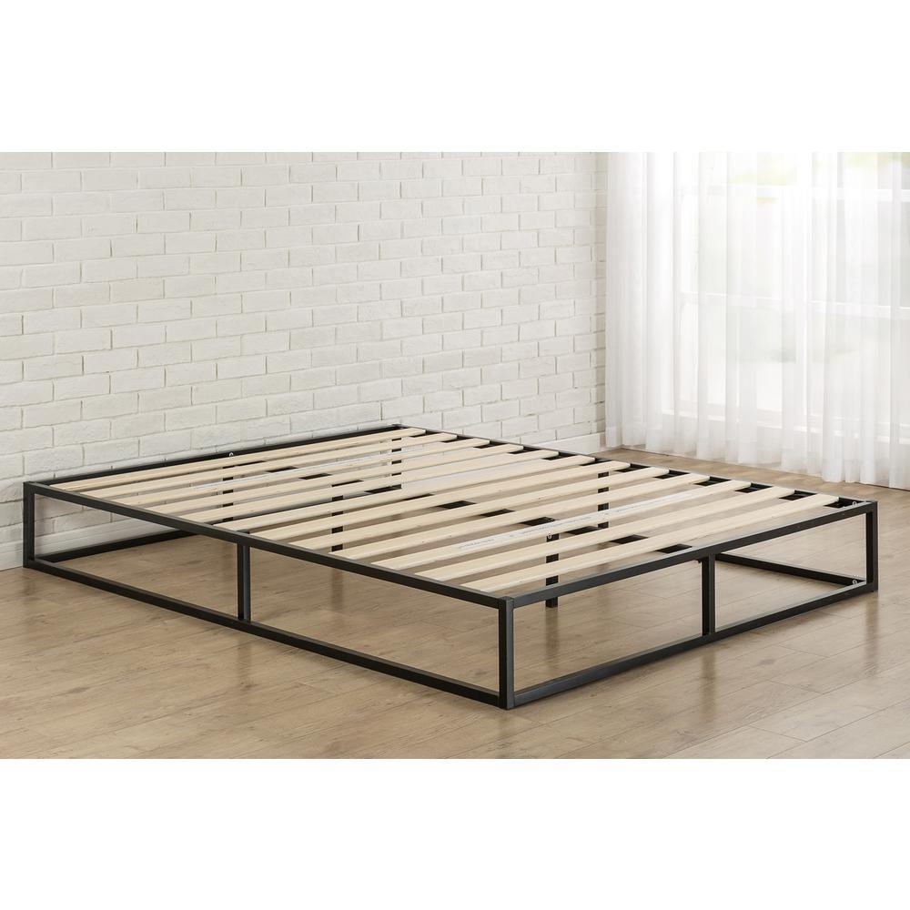 Deals on Zinus Joseph Steel Platform Bed Frame King