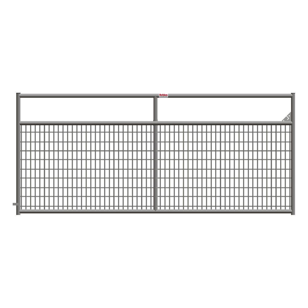 Ranch Master 120 In X 50 In Galvanized Tube Gate 40132107 The Home Depot