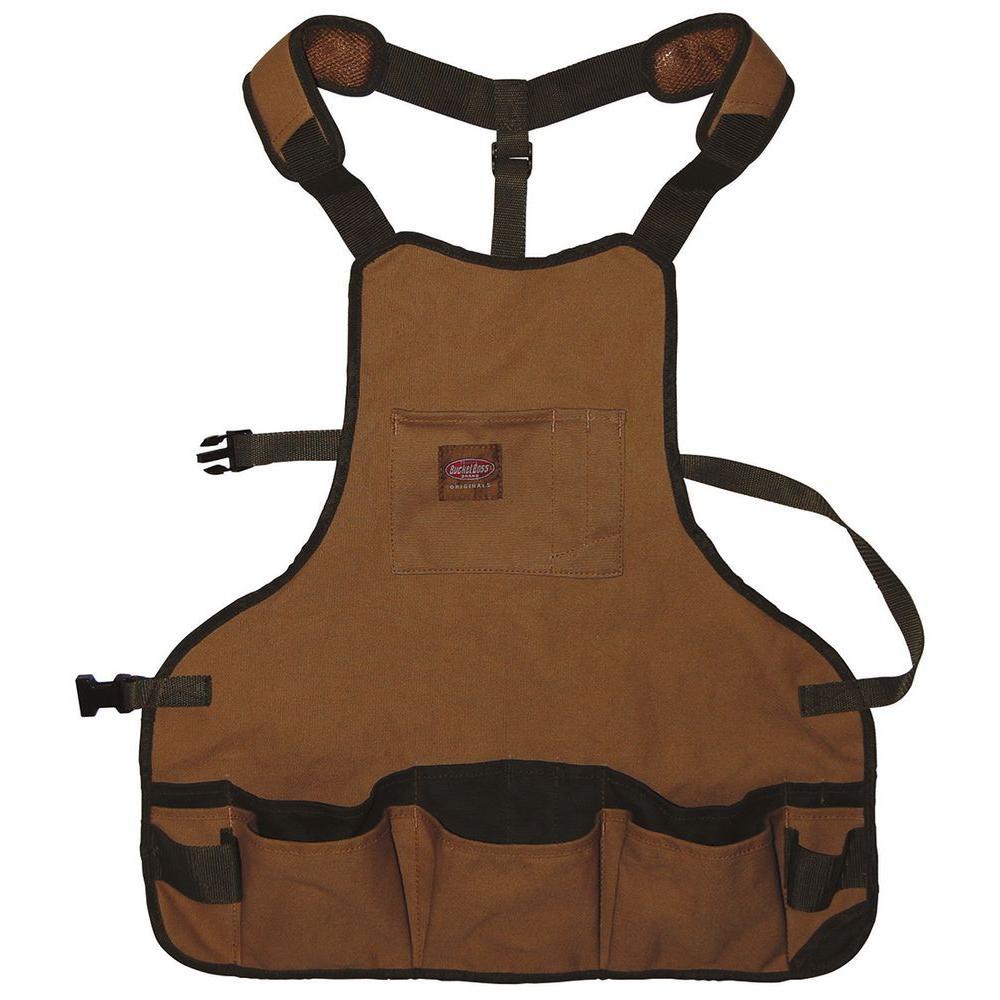 23 in. 16-Pocket Duckwear Super Bib Apron