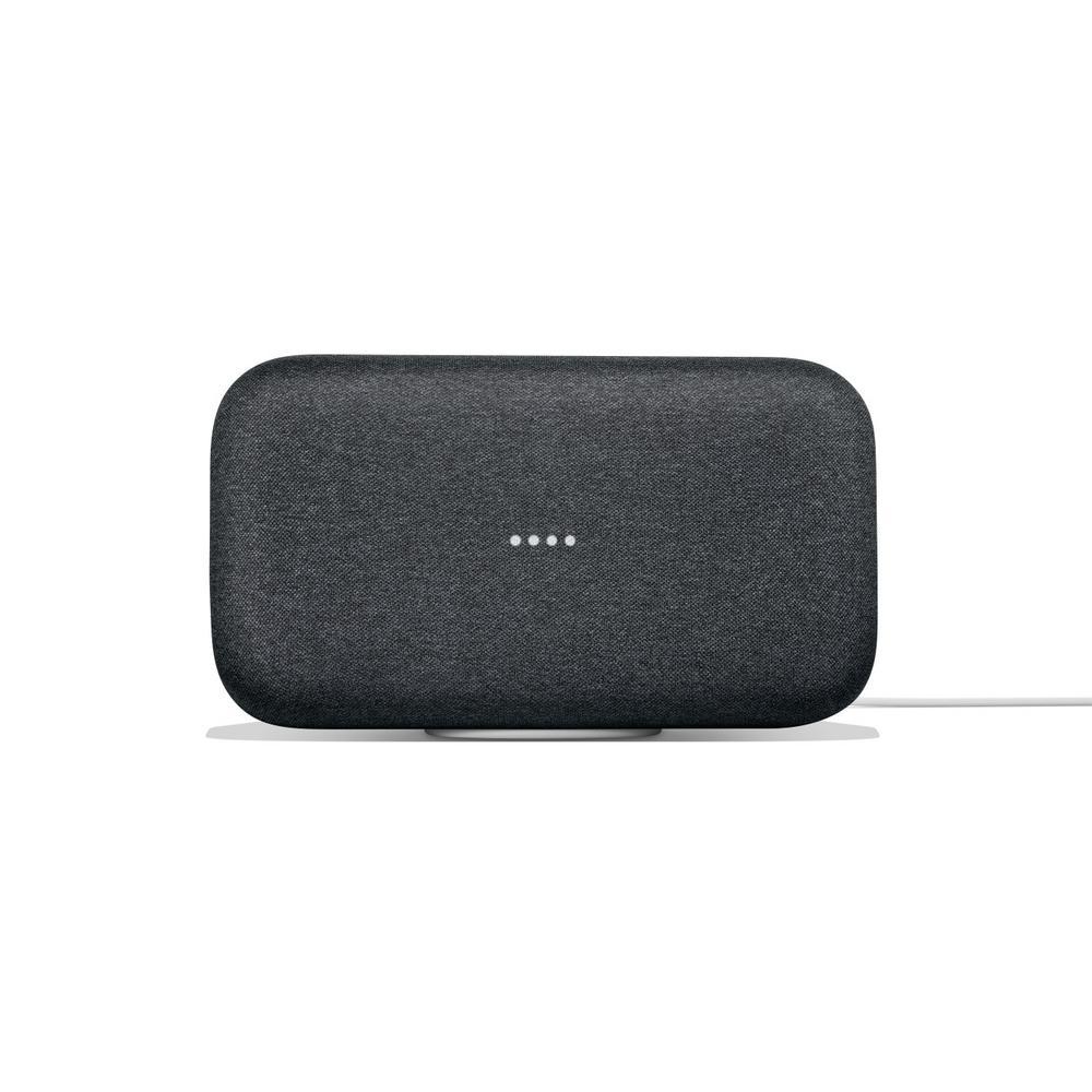 Google Home Max Charcoal-GA00223-US - The Home Depot