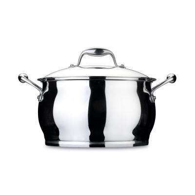 Essentials 10.6 Qt. Stainless Steel Covered Stockpot