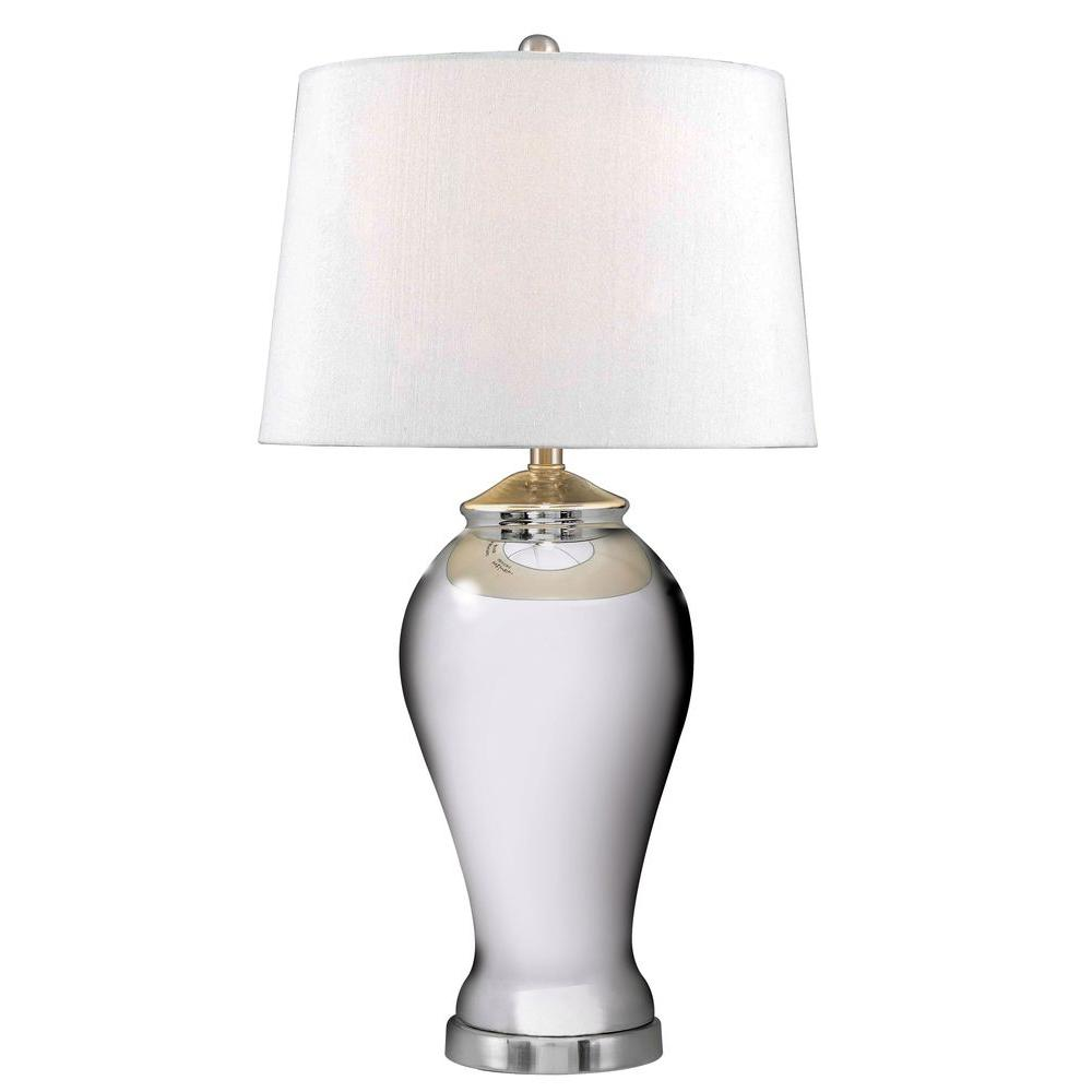Kenroy Home Raylene 29 in. Mercury Glass Table Lamp-DISCONTINUED