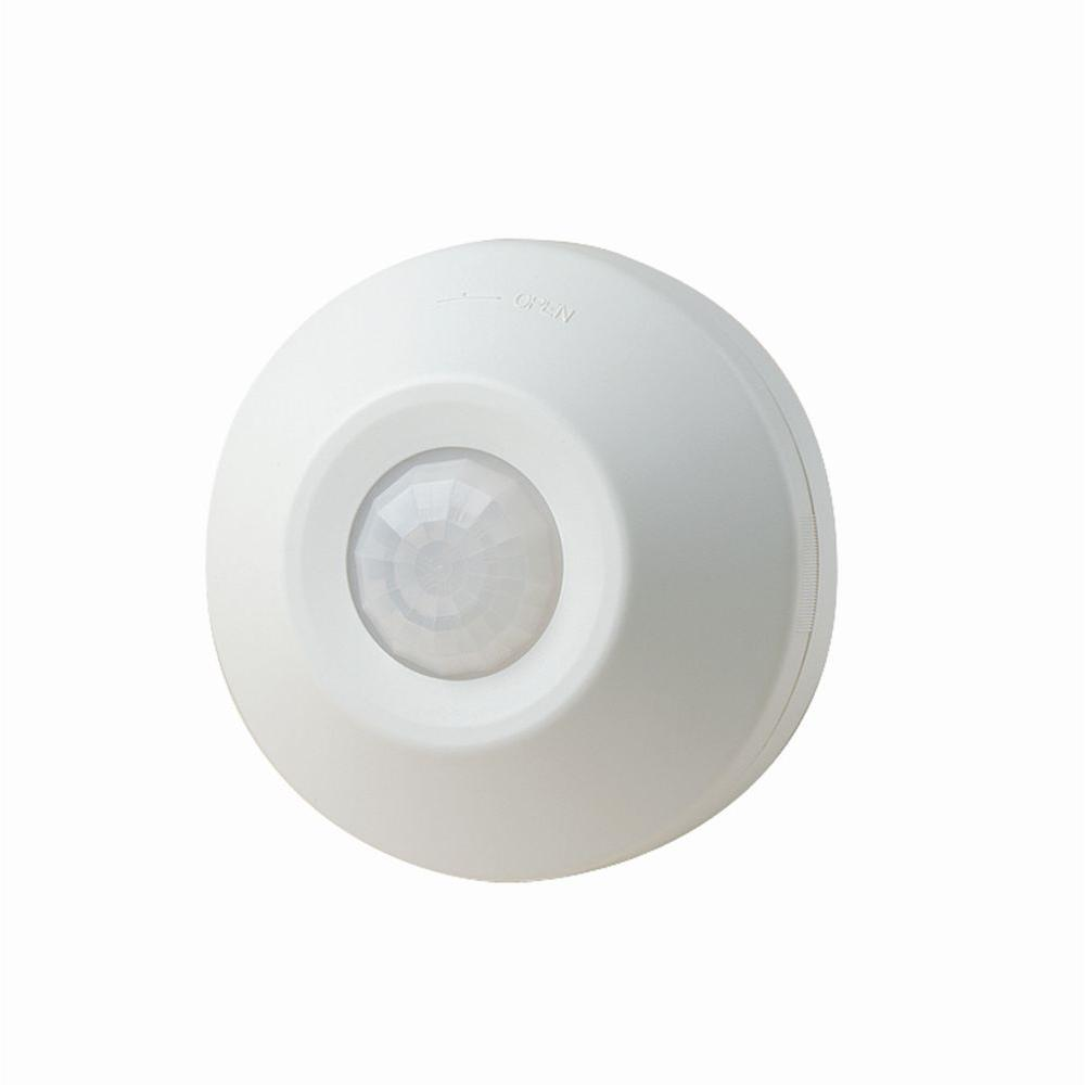 white leviton motion sensors 002 odc0s i1w 64_1000 leviton self contained ceiling mount occupancy motion sensor and leviton osc20 m0w wiring diagram at panicattacktreatment.co
