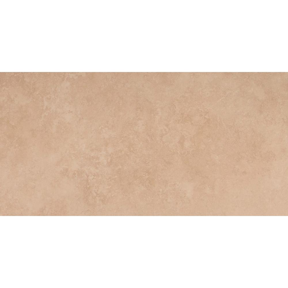 MS International Travertino Beige 12 in. x 24 in. Porcelain Floor and Wall Tile (16 sq. ft. / case)