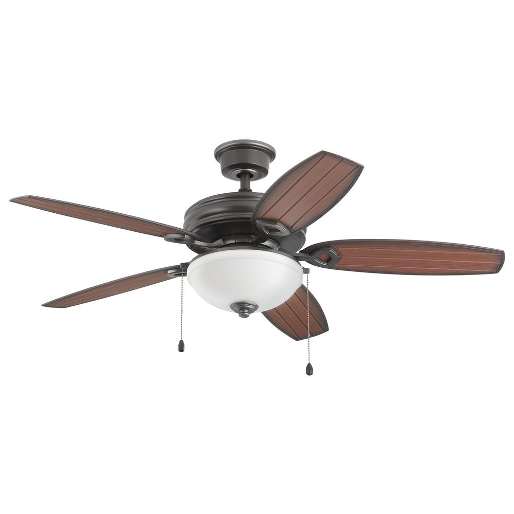 home decorators collection oconee 52 in led indoor outdoor natural iron ceiling fan with light. Black Bedroom Furniture Sets. Home Design Ideas