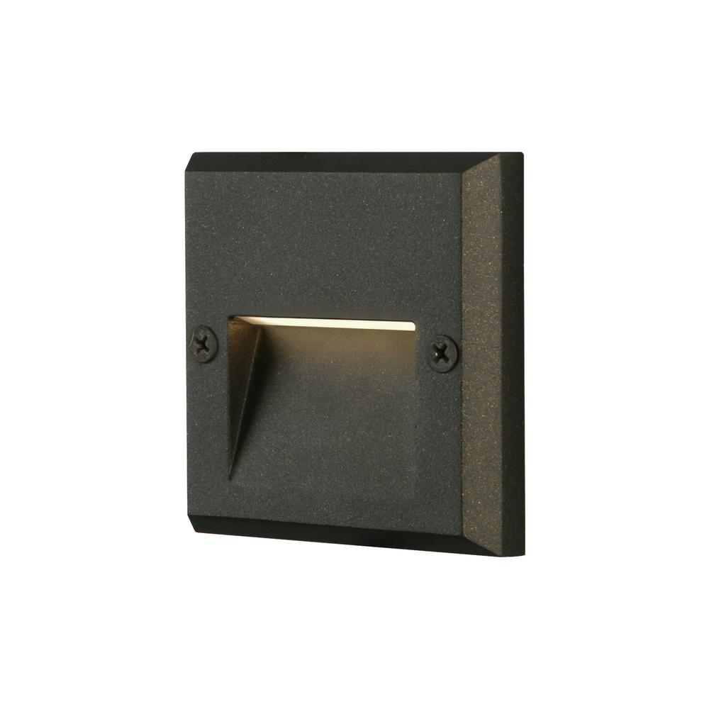 Black Integrated LED Deck Light  sc 1 st  The Home Depot & Deck Lighting - Outdoor Lighting - The Home Depot