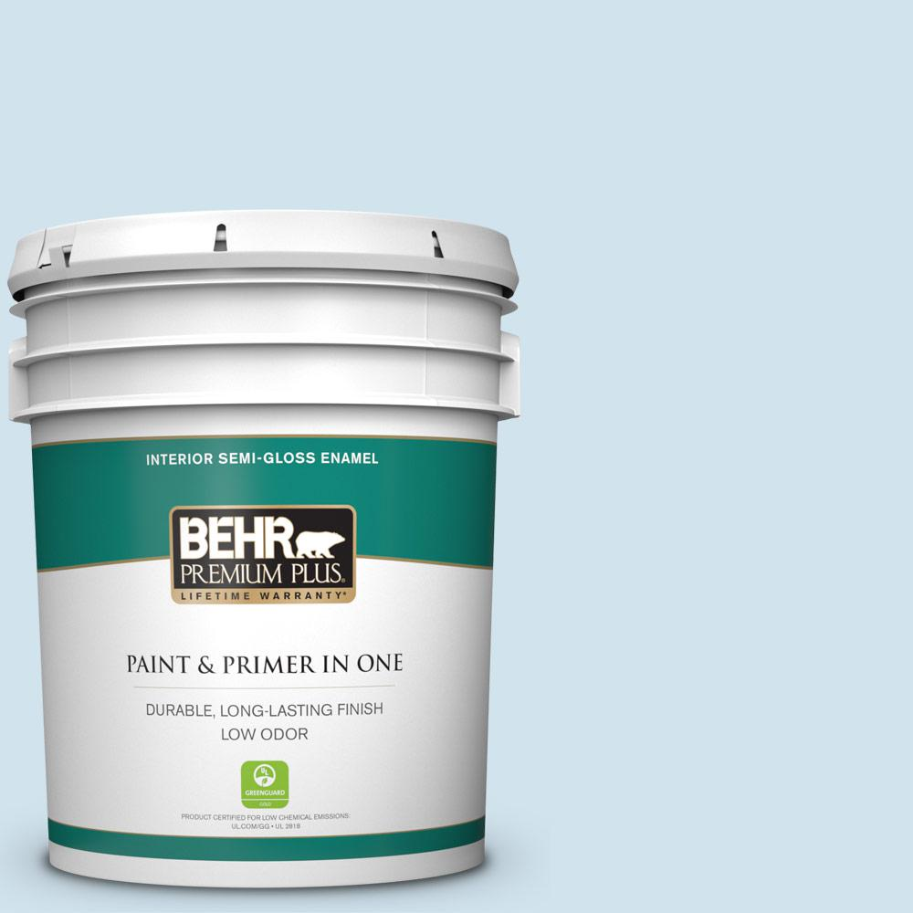 550a 1 Sea Sprite Semi Gloss Enamel Low Odor Interior Paint And Primer In One