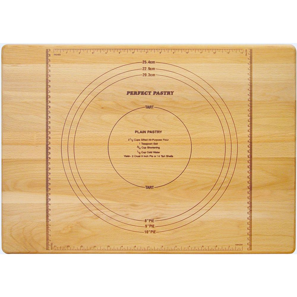 Catskill Craftsmen Perfect Pastry Wooden Reversible Cutting Board