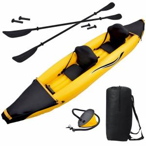 Click here to buy Blue Wave Nomad 2-Person Inflatable Kayak by Blue Wave.