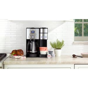 fe141cabb209 Store SKU  1003066812. Cuisinart Coffee Center 12-Cup Coffeemaker and Single -Serve Brewer