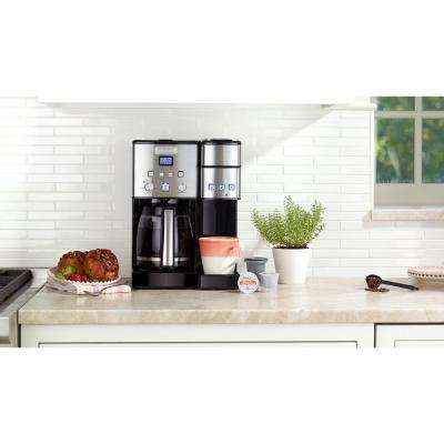 Coffee Center 12-Cup Coffeemaker and Single-Serve Brewer