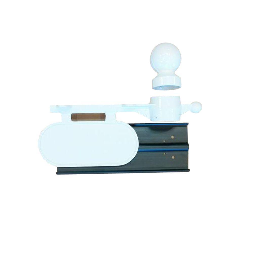 Aluminum Mailbox Kit, White