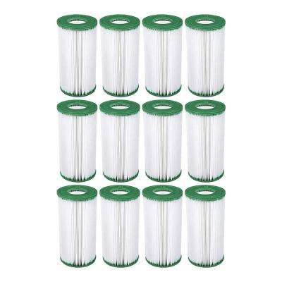 4.25 in. Dia Type III A/C Pool Replacement Filter Cartridge (12-Pack)