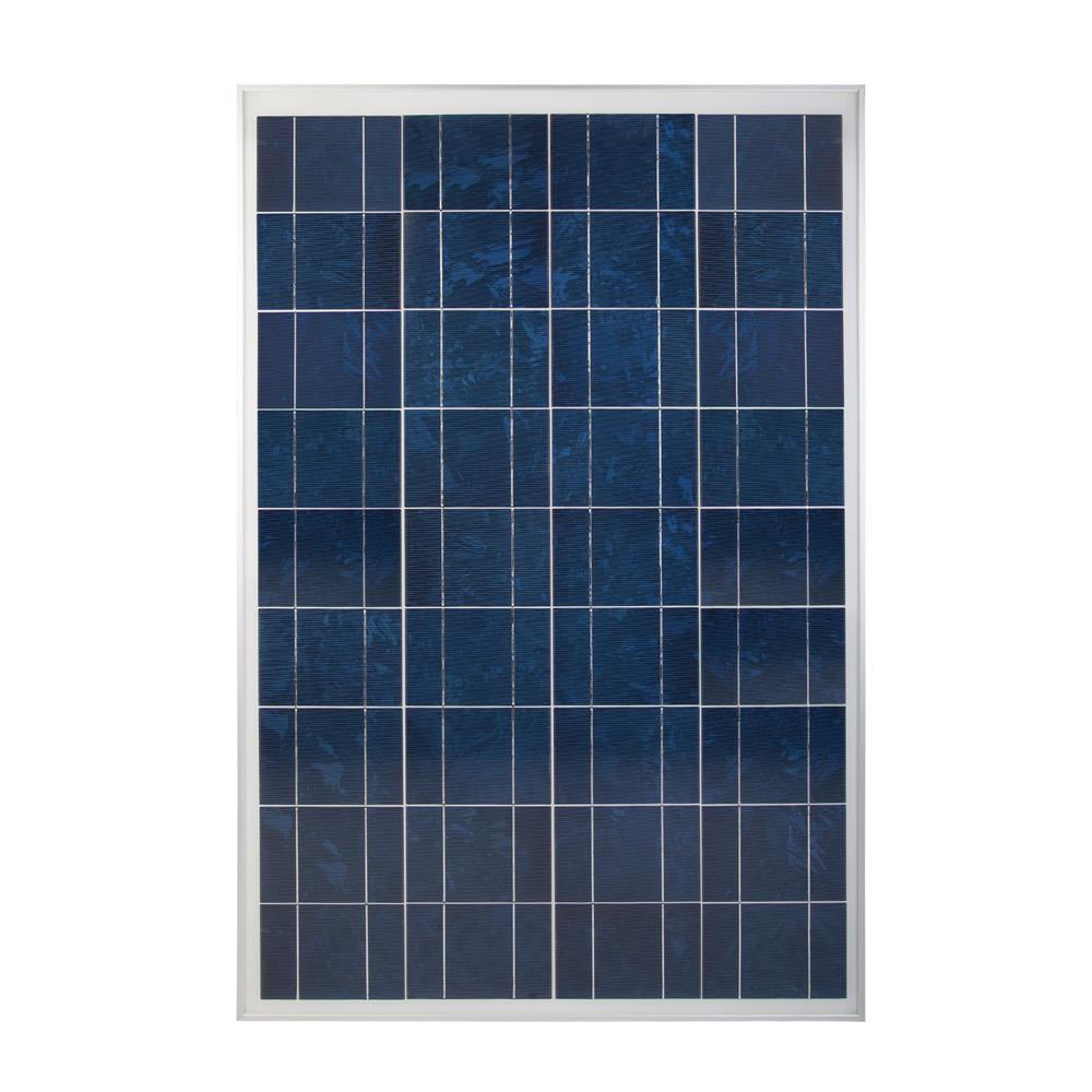 100-Watt 12-Volt Crystalline Solar Panel