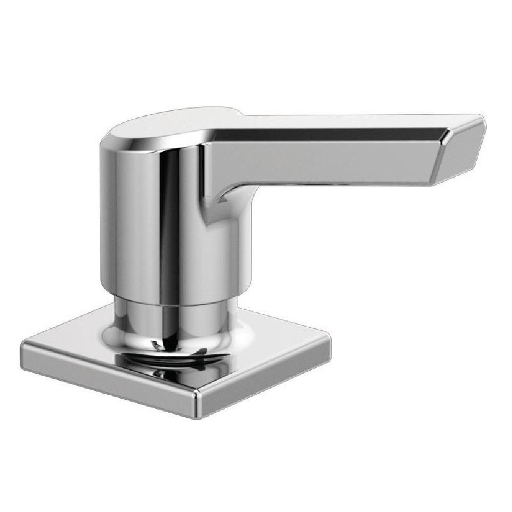 Delta Pivotal Deck-Mount Soap and Lotion Dispenser in Chrome