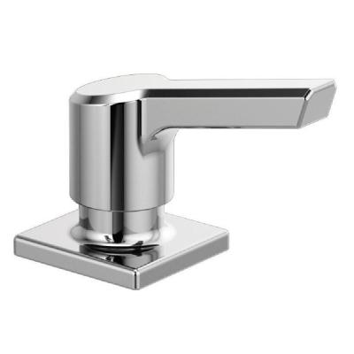 Pivotal Deck-Mount Soap and Lotion Dispenser in Chrome