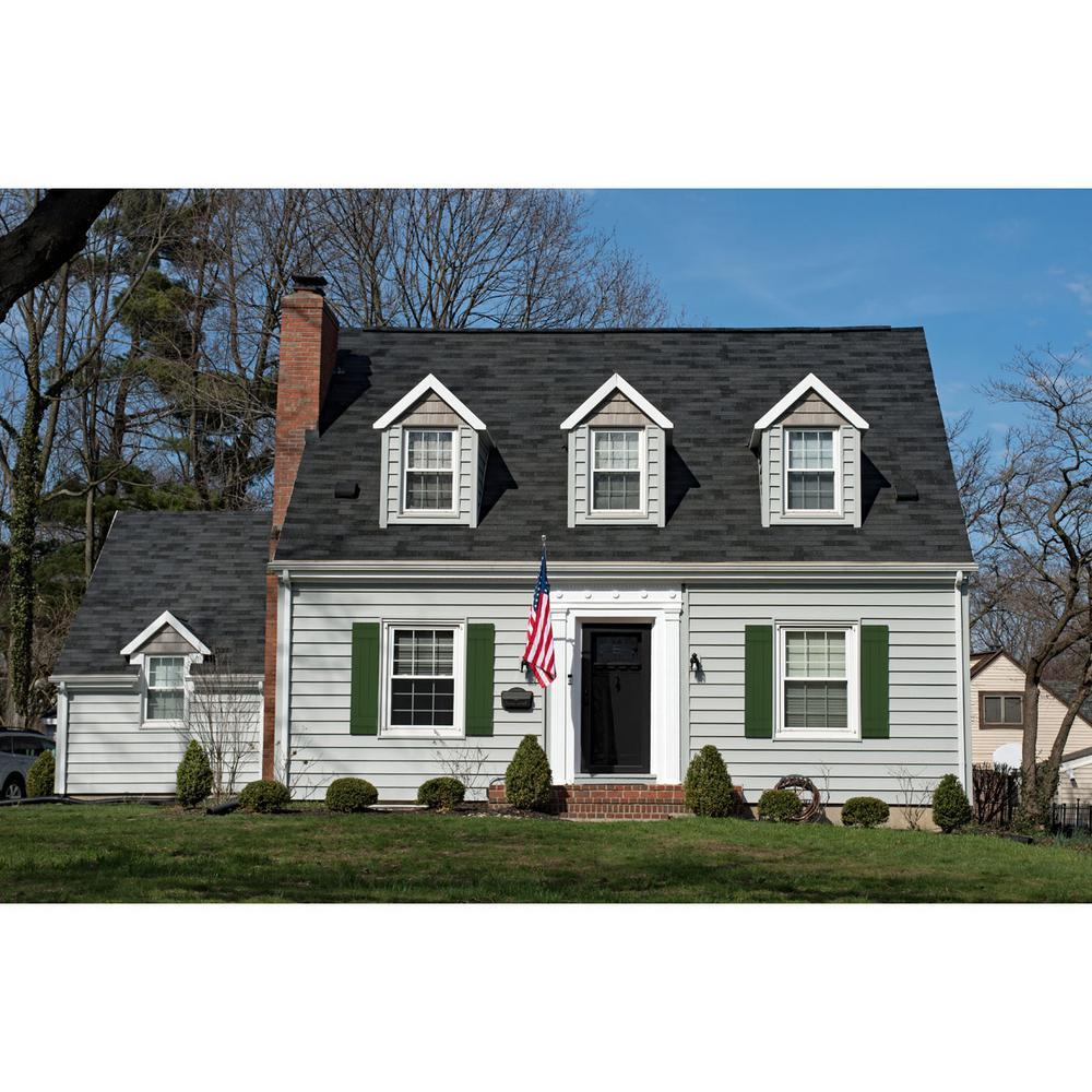 Ekena Millwork 21 1 2 X 76 True Fit Pvc Four Board Joined Board N Batten Shutters Viridian Green Per Pair 1573794 The Home Depot
