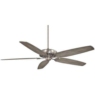 Great Room Traditional 72 in. Indoor Burnished Nickel Ceiling Fan