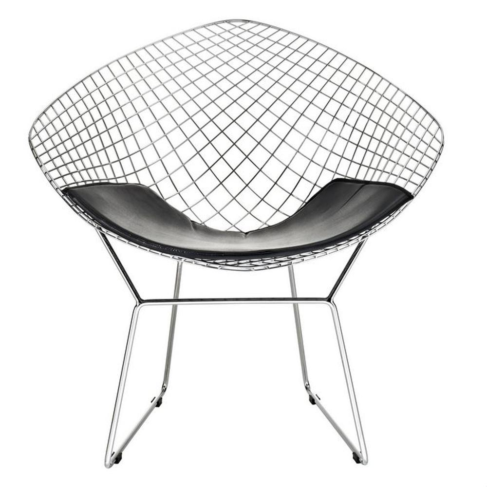 Unbranded Wire Black Diamond Chair Fmi1157 Black The Home Depot