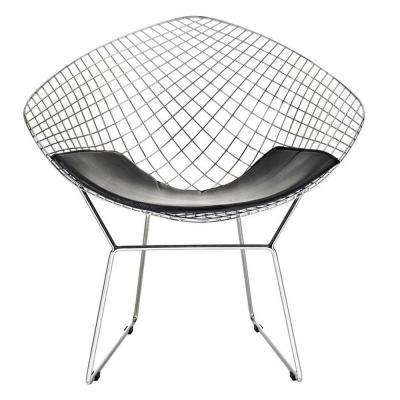 Wire Black Diamond Chair