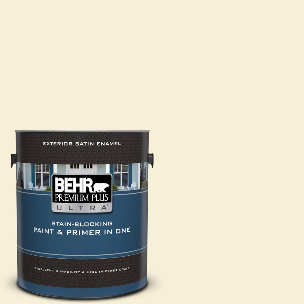 1 gal. #390E-1 Cosmic Dust Satin Enamel Exterior Paint and Primer