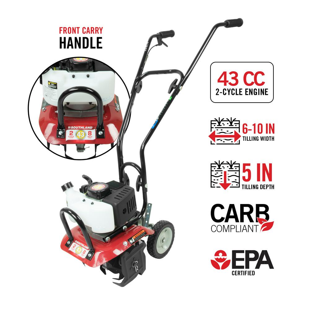Southland 10 in  43cc Gas 2-Cycle Cultivator with CARB Compliant