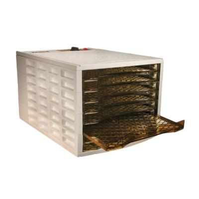Realtree-8-Tray Brown and White Food Dehydrator with Cover