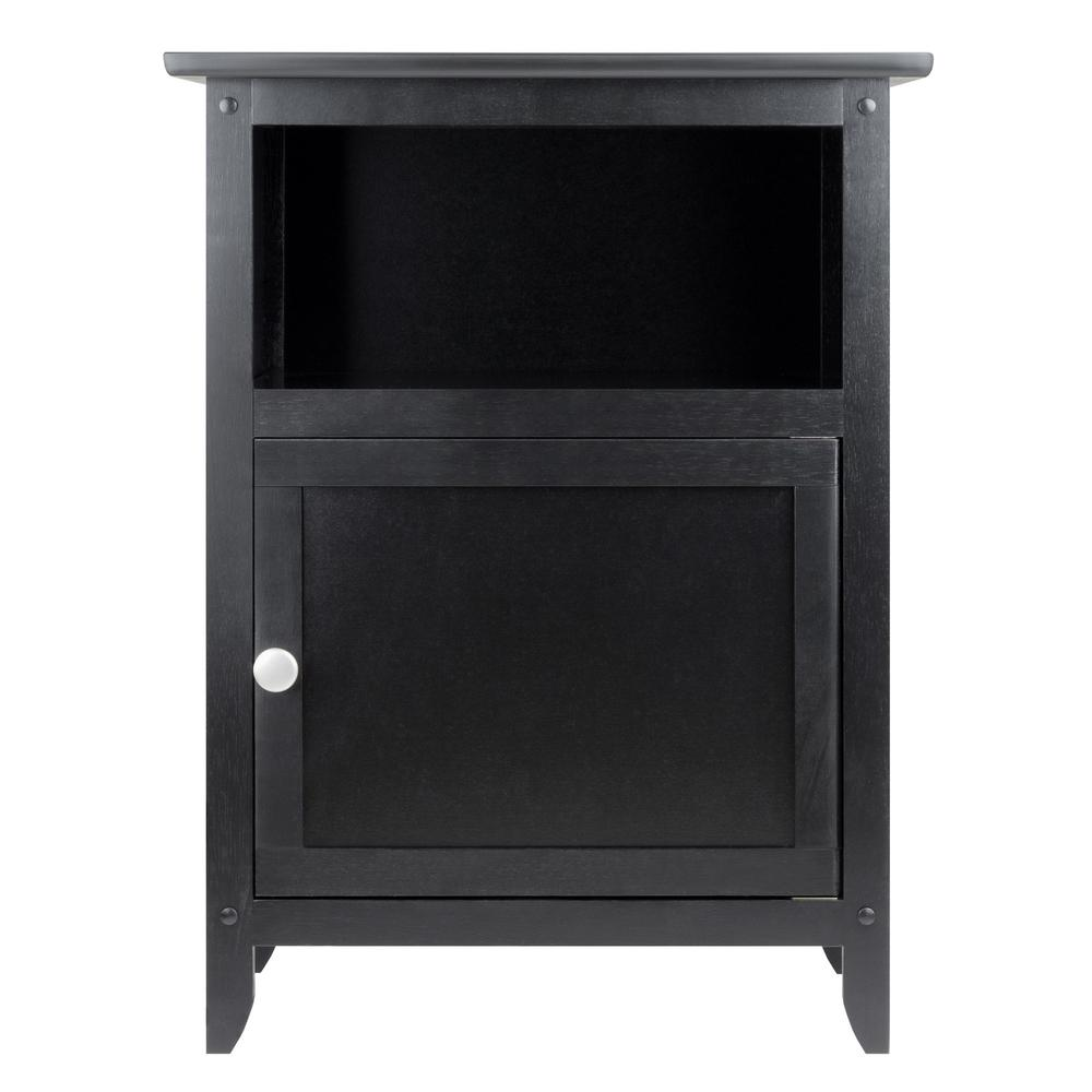Winsome Winsome Henry Accent Table Black