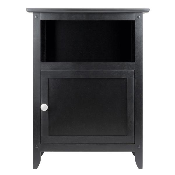 Winsome Henry Accent Table Black