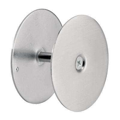 2-5/8 in. Satin Nickel Hole Cover Plate Door Knob