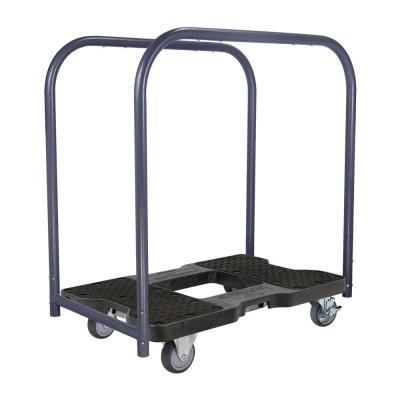 1,200 lbs. Polypropylene Professional E-Track Panel Cart Dolly in Black