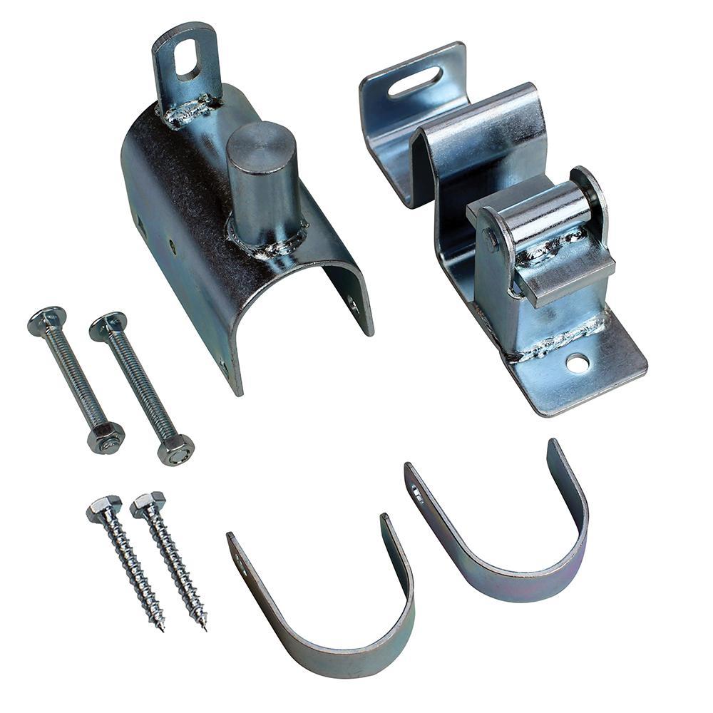 Zinc Plated 1-Way Lockable Gate Latch
