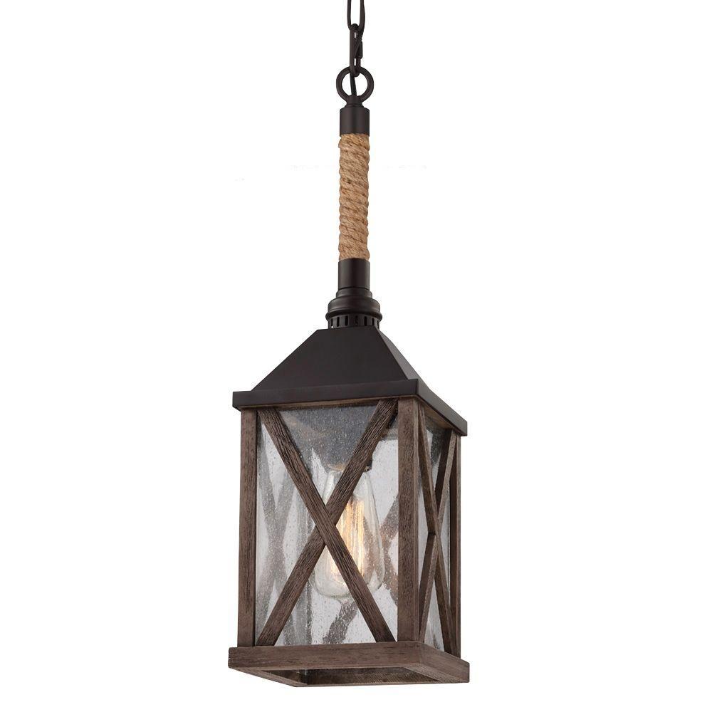 feiss 1light dark weathered oakoil rubbed bronze mini pendant p1326dwoorb the home depot