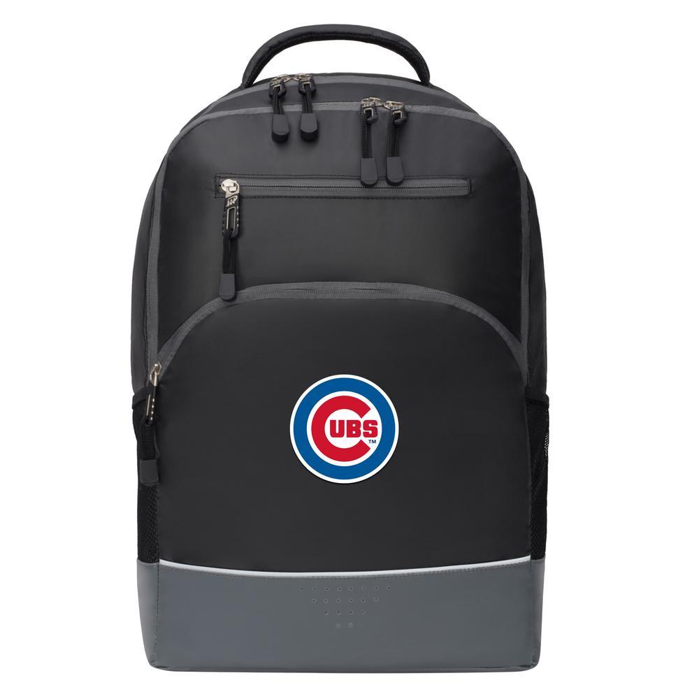 Cubs 19 in. Black Alliance Backpack