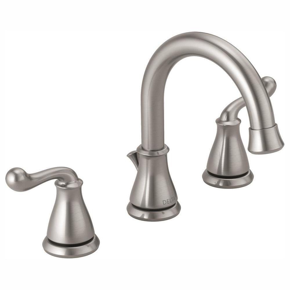 Delta Southlake 8 in. Widespread 2-Handle Bathroom Faucet