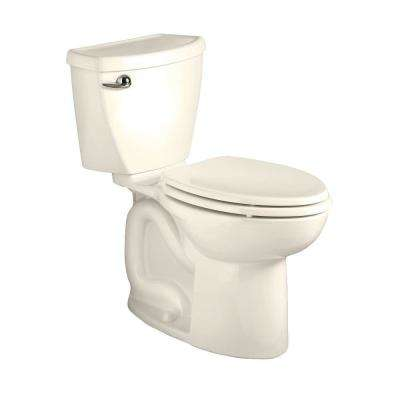 Cadet 3 Powerwash 2-piece 1.28 GPF Single Flush High-Efficiency Elongated Toilet in Linen, Seat Not Included