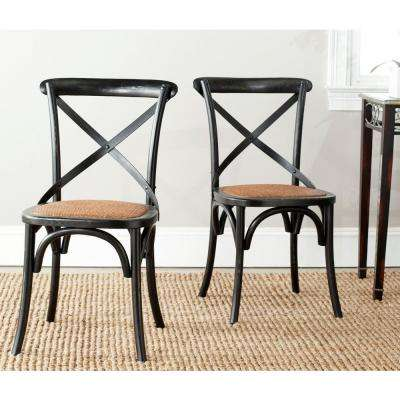 Franklin Hickory Oak X Back Dining Chair (Set of 2)