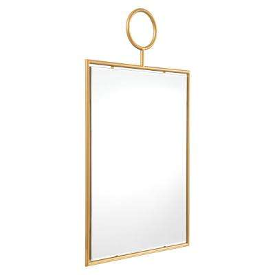 Ring Wall Gold Mirror