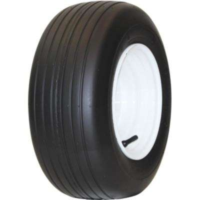 Rib 20X10.00-10 4-Ply Lawn and Garden Tire (Tire Only)