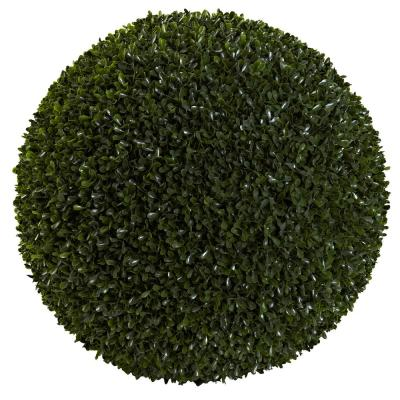 Indoor and Outdoor 19 in. Boxwood Ball