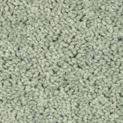 Carpet Sample - Bel Ridge - Color Lime Tint Texture 8 in. x 8 in.