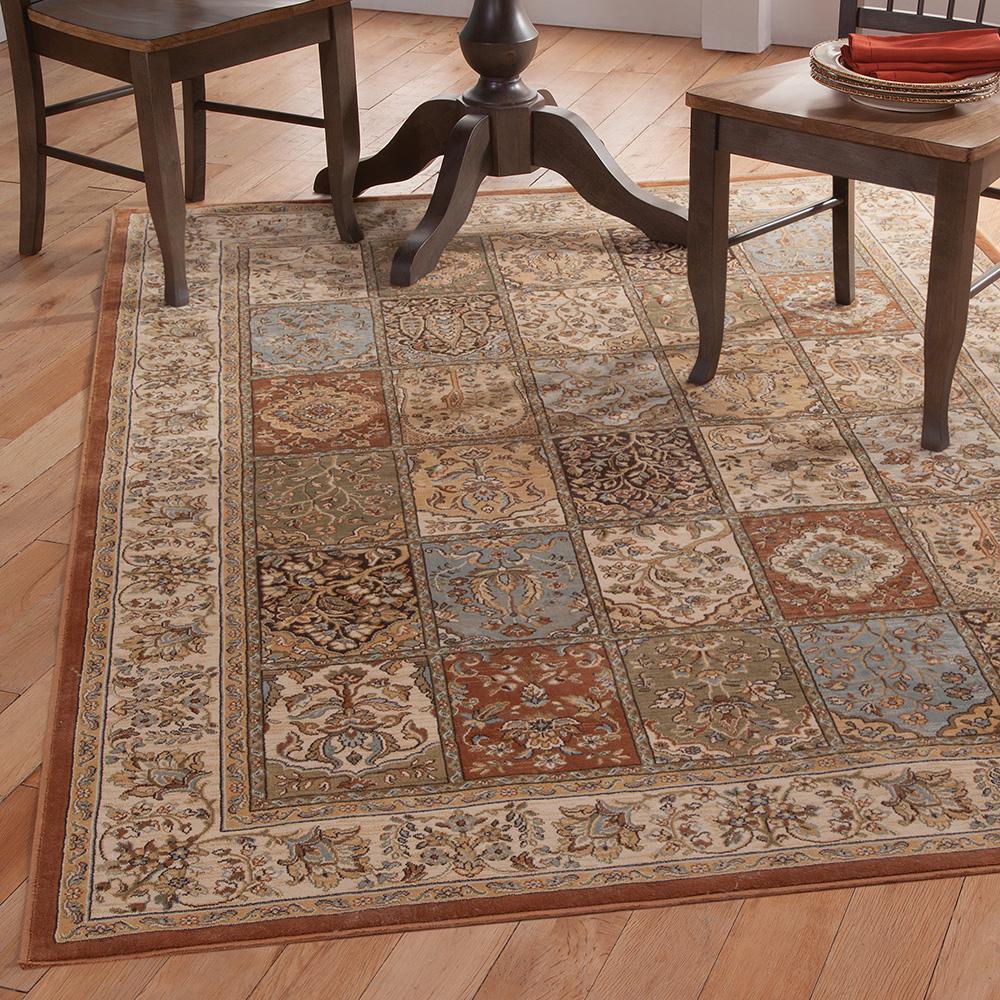 Sams international sonoma lenox tan 5 ft 3 in x 7 ft 6 for International home decor rugs