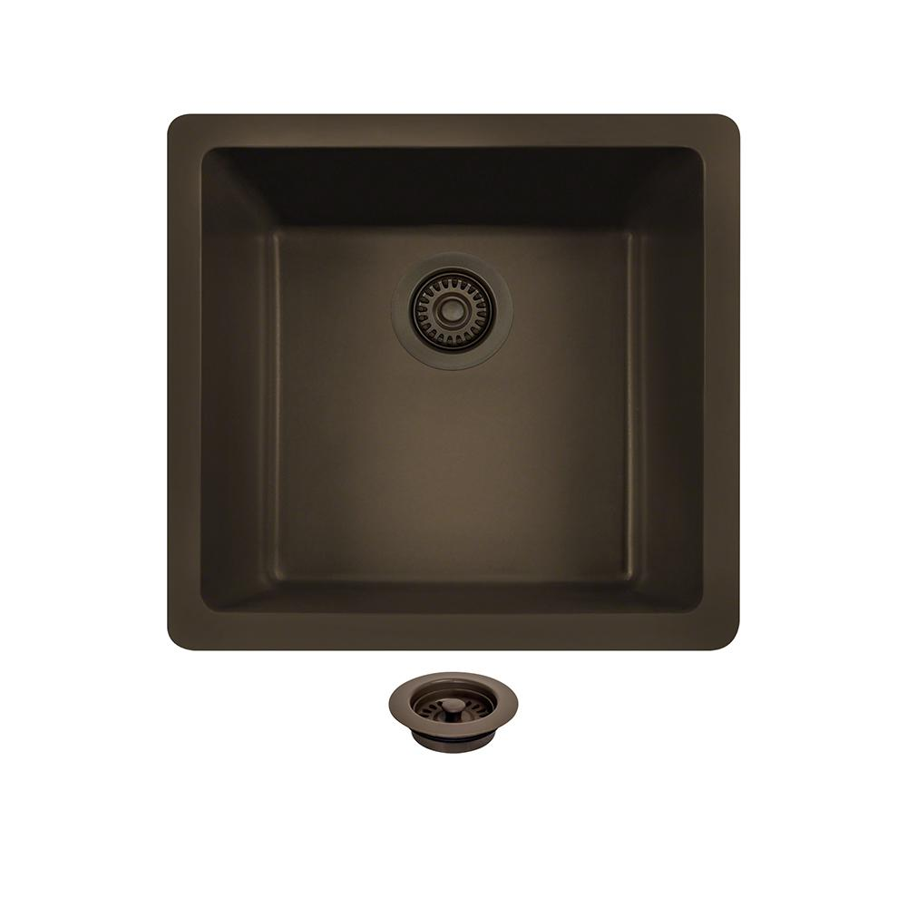 MR Direct All-in-One Undermount Composite 18 in. Single ...